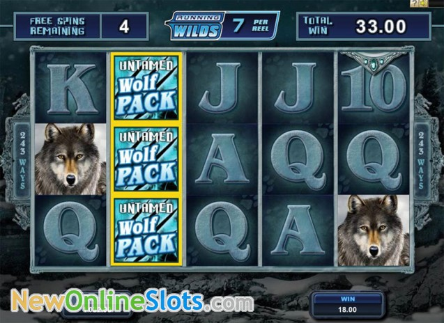 Untamed Wolf Pack Slot - Microgaming - Rizk Online Casino Sverige