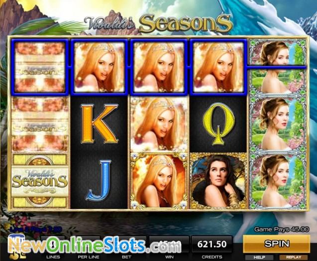 Vivaldis Seasons™ Slot Machine Game to Play Free in High 5 Gamess Online Casinos