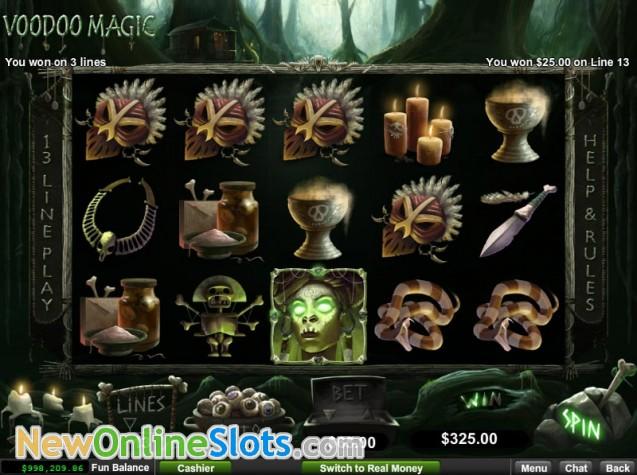 Voodoo Magic Slot Game by RTG - Play it Free Online