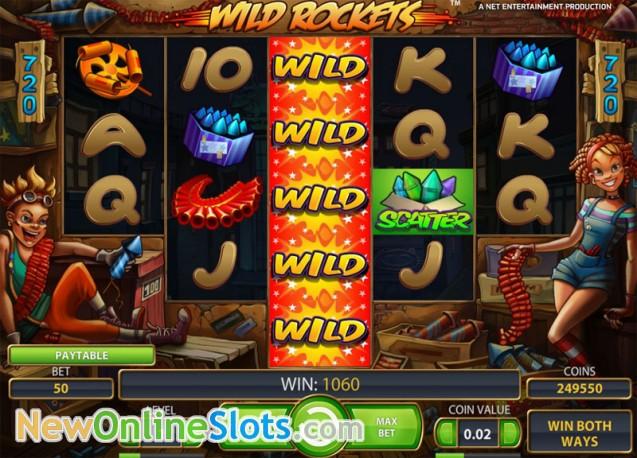 Wild Rockets Slot Machine Online ᐈ NetEnt™ Casino Slots