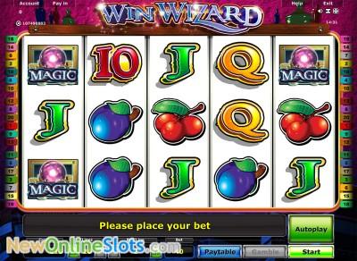 new online casino wizards win